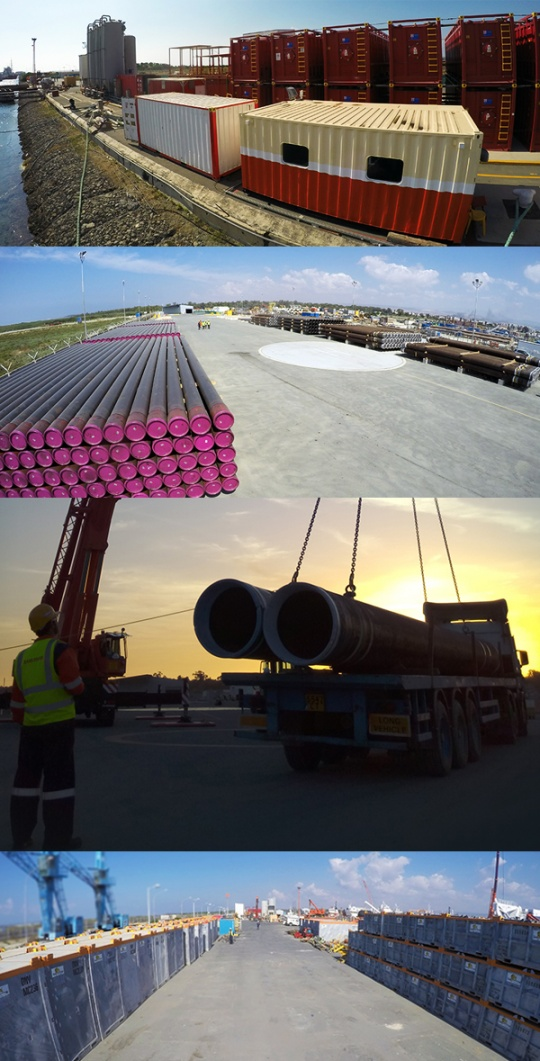 Logistics Shorebase Services Contract with Oil Major