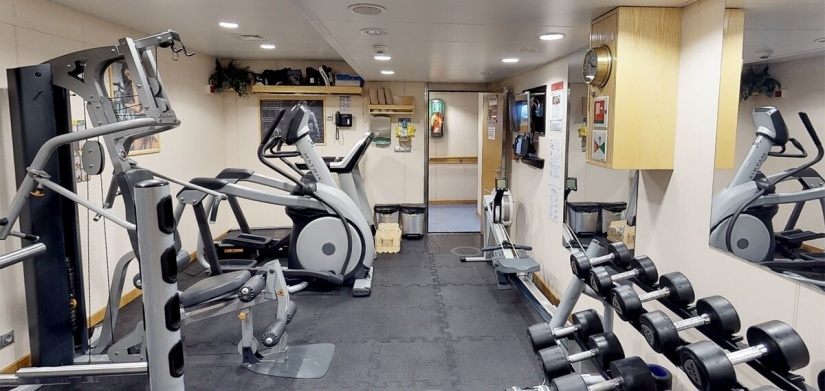 EDT Jane - On board Gym