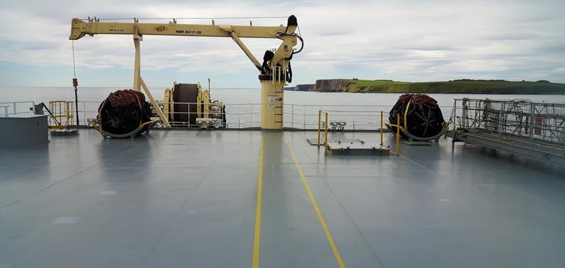 EDT Hercules - Provisions Crane